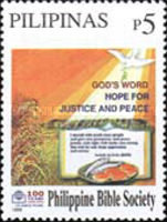 [The 100th Anniversary of Philippine Bible Society, Typ GJW]