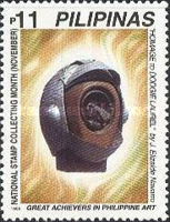 [National Stamp Collecting Month - Modern Sculptures, Typ GKS]