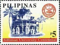[The 100th Anniversary of Silliman University, Dumaguete City, Typ GPI]
