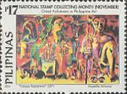 [National Stamp Collecting Month - Art, Typ GQU]