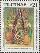 [National Stamp Collecting Month - Art, Typ GQV]