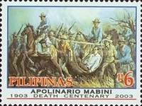 [The 100th Anniversary of the Death of Apolinario Mabini, 1884-1903 and the 100th Anniversary of the Death of Luciano San Miguel, 1875-1903, Typ GUQ]