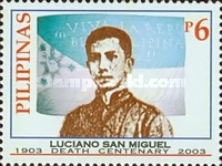 [The 100th Anniversary of the Death of Apolinario Mabini, 1884-1903 and the 100th Anniversary of the Death of Luciano San Miguel, 1875-1903, Typ GUR]