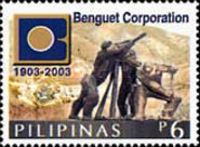 [The 100th Anniversary of Benguet Corporation, Typ GVT]