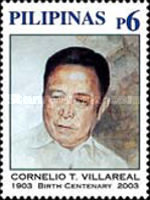 [The 100th Anniversary of the Birth of Cornelio Villareal (Speaker of the House), 1903-1992, Typ GWH]