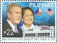 [Visit of USA President George W. Bush to Philippines on October 18th 2003, Typ GYQ]