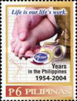 [The 50th Anniversary of Pfizer Pharmaceutical Company, Typ GZD]