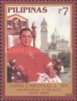 [The 1st Anniversary of the Death of Cardinal Jaime Lachica Sin, 1928-2005, Typ HMH]