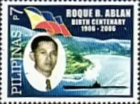 [The 100th Anniversary of the Birth of Roque B. Ablan, 1906-1943, Typ HOB]