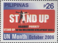 [United Nations Month - Stand Up Against Poverty, Typ HOS]