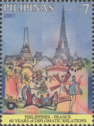 [The 60th Anniversary of Diplomatic Relations with France, Typ HRF]