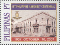 [The 100th Anniversary of the First Phillipine Assembly, Typ HTS]
