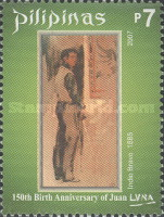 [The 150th Anniversary of the Birth of Juan Luna, 1857-1899, Typ HTY]