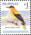 [Birds - Black-Naped Oriole, Typ HTZ]