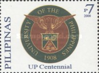 [The 100th Anniversary of the University of the Philippines, Typ HXO]