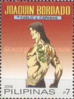 [National Stamp Collecting Month - Cartoon Superheroes, Typ IAJ]