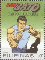 [National Stamp Collecting Month - Cartoon Superheroes, Typ IAK]