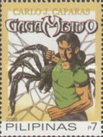 [National Stamp Collecting Month - Cartoon Superheroes, Typ IAL]