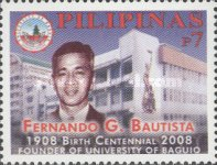 [The 100th Anniversary of the Birth of Fernando G. Bautista, 1908-1969, Typ IAR]
