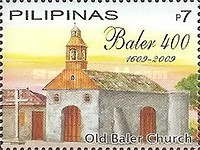 [The 400th Anniversary of the Evangelization of the Town of Baler, Typ IDO]