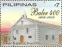 [The 400th Anniversary of the Evangelization of the Town of Baler, Typ IDP]