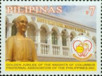 [The 50th Anniversary of the Knights of Columbus Fraternal Associoation, Typ IDT]
