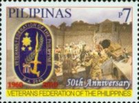 [The 50th Anniversary of the Veterans Federation of the Philippines, Typ IVW]
