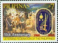 [The 50th Anniversary of the Veterans Federation of the Philippines, Typ IVX]