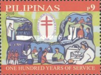 [The 100th Anniversary of the Philippine Tuberculosis Society, Typ IWI]