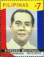 [The 100th Anniversary of the Birth of President Diosdado Macapagal, 1910-1997, Typ IXC]
