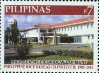 [The 125th Anniversary of the Philippine Rice Institute, Typ IXI]