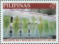 [The 125th Anniversary of the Philippine Rice Institute, Typ IXJ]