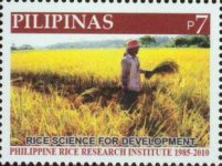 [The 125th Anniversary of the Philippine Rice Institute, Typ IXK]