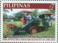 [The 125th Anniversary of the Philippine Rice Institute, Typ IXL]