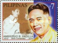 [The 100th Anniversary of the Birth of Ambrosio B. Padilla, 1911-1990, Typ IYO]