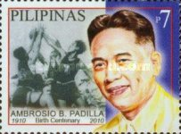 [The 100th Anniversary of the Birth of Ambrosio B. Padilla, 1911-1990, Typ IYP]
