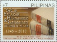 [The 65th Anniversary of SyCip, Salazar, Hernandez & Gatmaitan Law Firm, Typ IYQ]