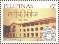 [The 100th Anniversary of the University of the Philippines - College of Law, Typ IZT]