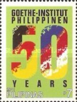 [The 50th Anniversary of the Goethe-Institut, Manilla, Typ JBA]