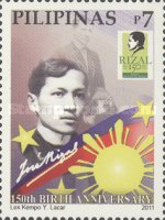 [The 150th Anniversary of the Birth of José Rizal, 1861-1896, Typ JBE]