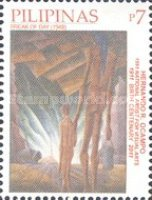 [National Stamp Collecting Month - Paintings by Hernando R. Ocampo, 1911-1978, Typ JDK]