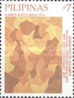 [National Stamp Collecting Month - Paintings by Hernando R. Ocampo, 1911-1978, Typ JDL]