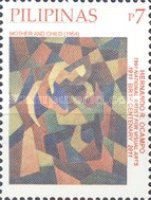 [National Stamp Collecting Month - Paintings by Hernando R. Ocampo, 1911-1978, Typ JDM]