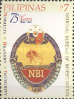 [The 75th Anniversary of the NBI - National Bureau of Investigation, Typ JDR]