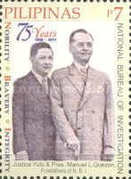[The 75th Anniversary of the NBI - National Bureau of Investigation, Typ JDS]