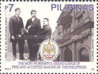 [The 100th Anniversary of the Grand Lodge of Free and Accepted Masons of the Philippines, Typ JEI]