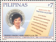 [The 20th Anniversary of the Philippine Postal Corporation, Typ JFB]