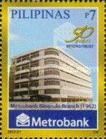 [The 50th Anniversary of the Metropolitan Bank and Trust Company, Typ JGB]