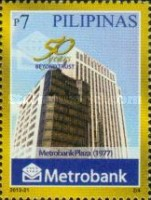[The 50th Anniversary of the Metropolitan Bank and Trust Company, Typ JGC]