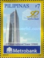 [The 50th Anniversary of the Metropolitan Bank and Trust Company, Typ JGD]